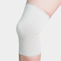 Wholesale cheap bamboo charcoal elastic 4 way stretch support compression knee sleeve