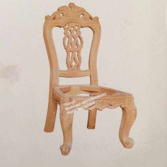 Curvas Francês Sala De Estar De Luxo De Volta Cadeira De Jantar De Madeira Sólida Do Vintage Buy Wood Chair Wood Dining Chairs Solid Wood Chair Product On Alibaba Com