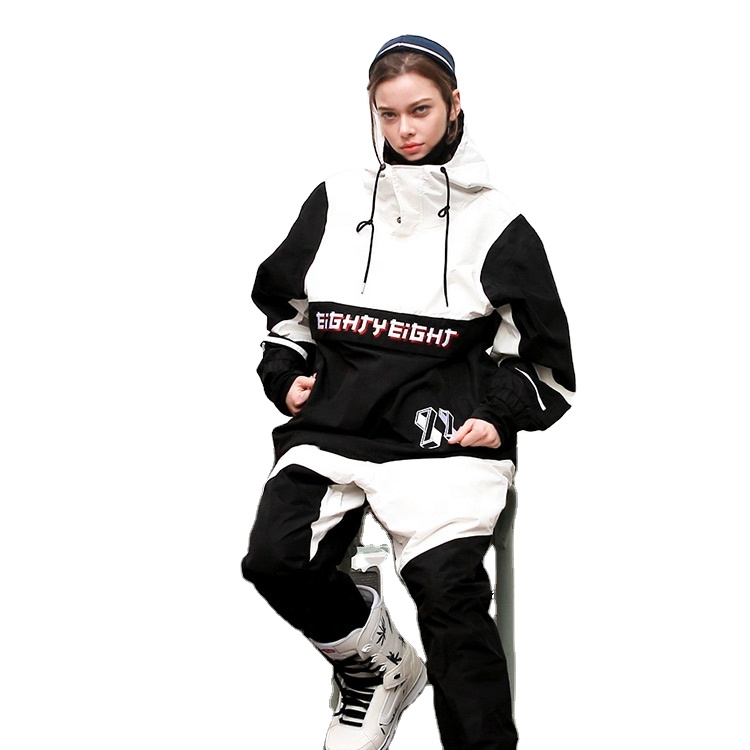 OEM/OEM Multicolor Pullover Technical Goose Down Jacket Ski Wear Snow Suit