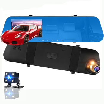 Factory Hot Sell 4.3 inch 1080P Car Security Camera Car Driving Video Recorder DVR Dash Camera with Loop Recording
