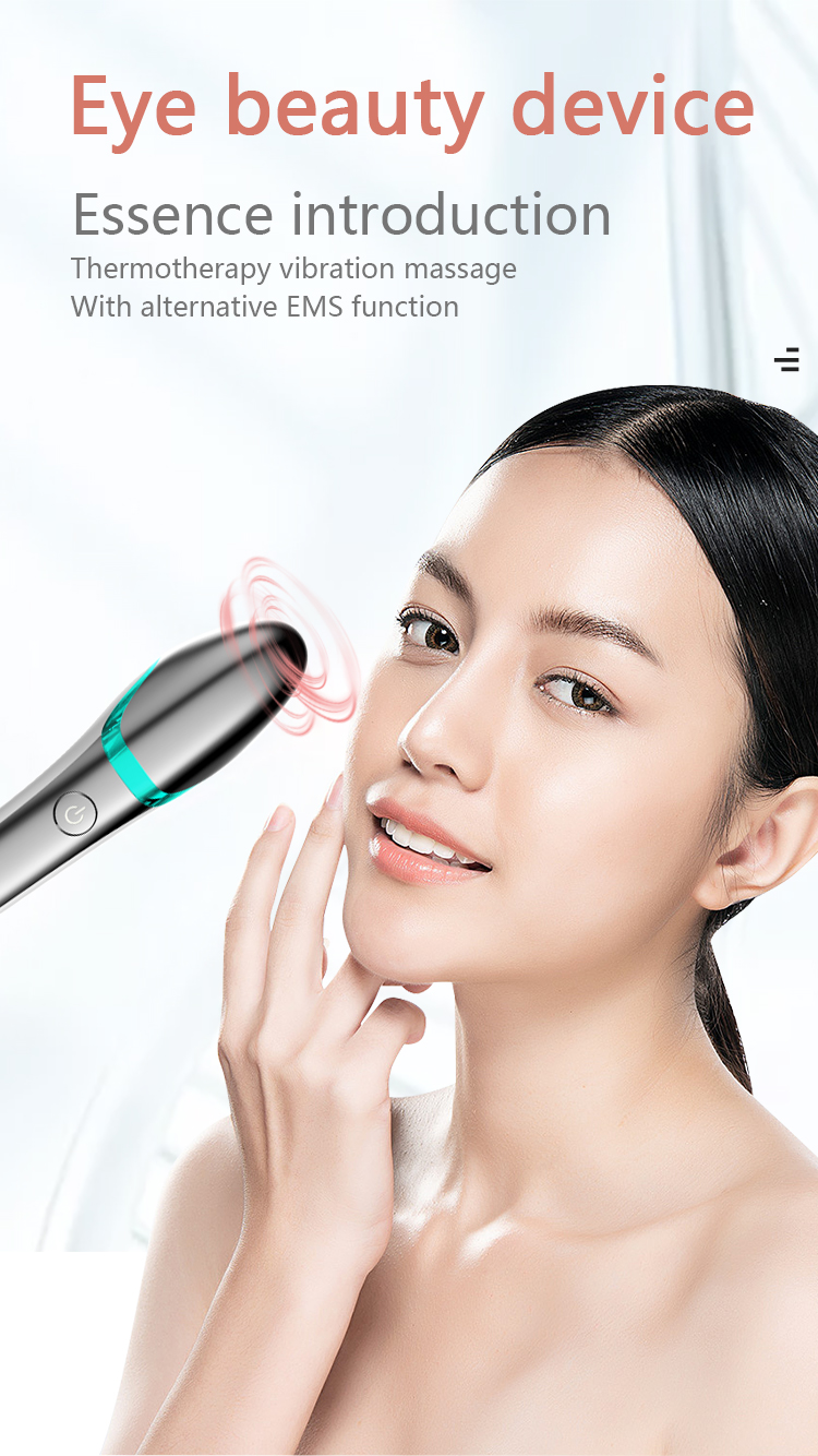 Electric Skin Care Hot Contour Vibrating Eye Massager Face Roller