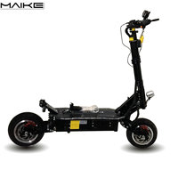 Free shipping maike kk10s adult electric off road scooter 5000w with seat in eu and us warehouse
