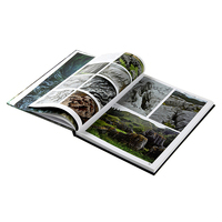 China high quality hardcover book publishing photo album custom printing