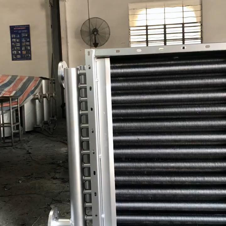 SRZ Type Counterflow Fin Tube Water to Air Heat Exchanger Price