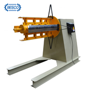Hydraulic Decoiler For Sheet Metal Coil