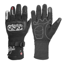 New Design Waterproof Outdoor Motorcycle Battery Heated Gloves guantes de moto al por mayor invierno