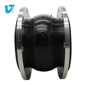 DIN SS316L flanges pipe fittings EPDM flexible rubber expansion joint High pressure rubber connection