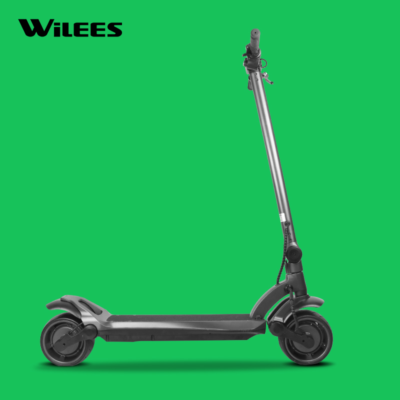 Manke MK109 Factory Directly selling Dual Motor Electric Scooter 48V 500W 8 Inch Wide Wheel Folding Kick E-scooter for Adults, Black