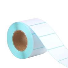 Lege Etiketten <span class=keywords><strong>Sticker</strong></span> Adhesive 60*40*700 Direct Thermisch Papier Label Rolls