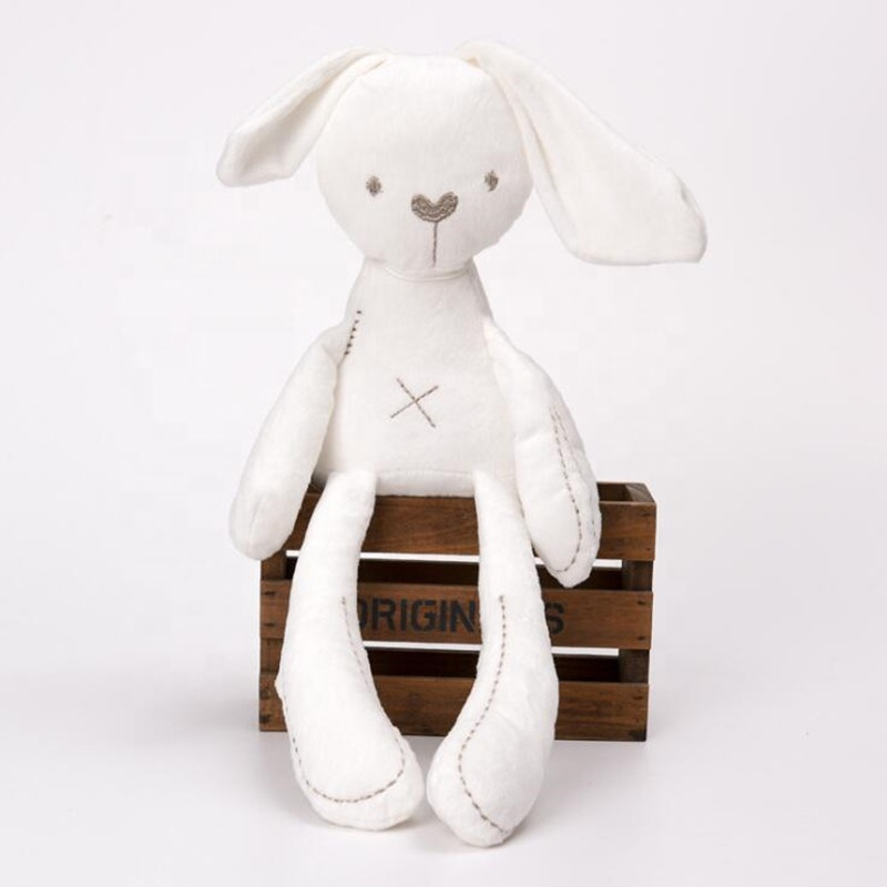 High Quality Comfort Baby Plush Animal Toys Custom Long Ear Soft Toy <strong>Rabbit</strong> for Babies