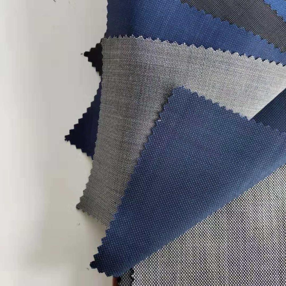 Wholesale New Design 100% Super 110s Merino Wool Poly Mens Suit Fabric