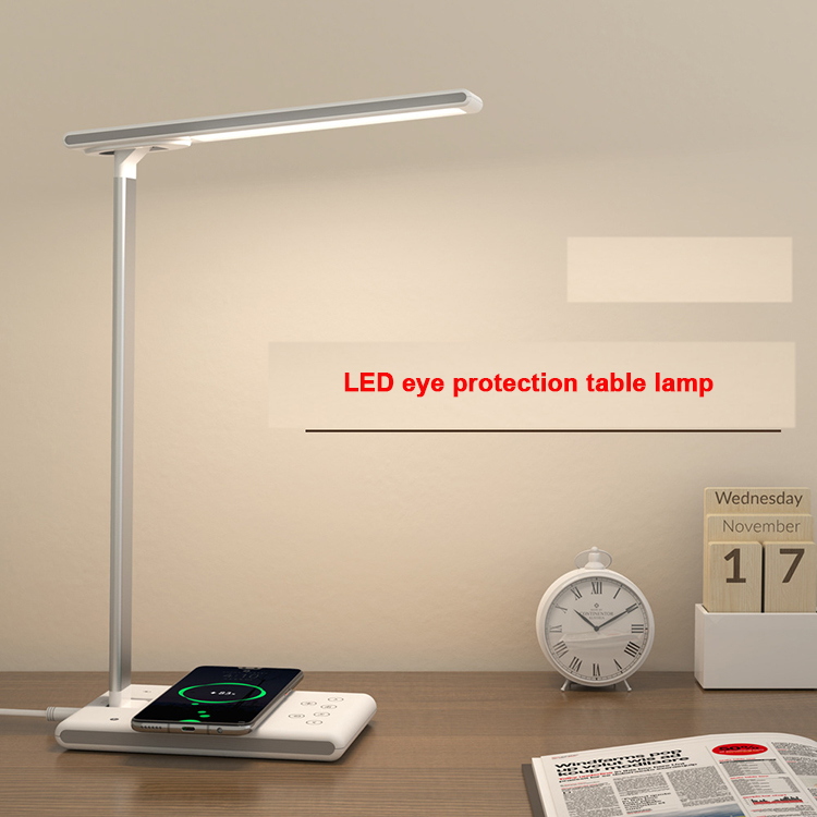 YJN5413 European Cheap Wireless USB Charge Bed Reading Bedroom Led Table Lamps