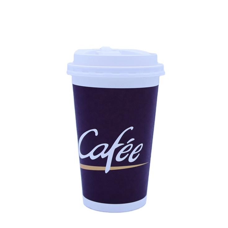 Comgesi best selling única parede dupla 8oz oz 12 16 onças descartável copo de papel da bebida quente com preço de fábrica