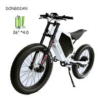 2020 stealth bomber Electric Bike with48/ 72V 3000w 5000w  8000W electric bike motor