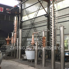 1 Year Warranty [ Industrial Distillation Equipment ] Distillation Still ZJ Industrial Alcohol Distillation Equipment Distillery Machine Copper Vodka Distiller