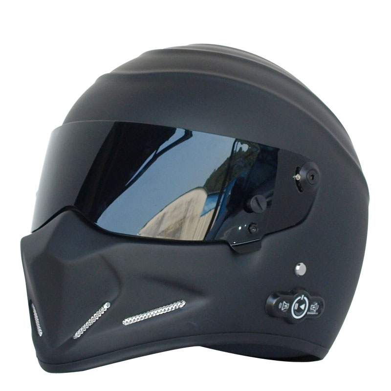 <strong>Bluetooth</strong> Full Face FRP Motorcycle Helmet DOT Approval Motocross Helmet <strong>For</strong> Top Gear The STIG Helmet <strong>for</strong> SIMPSON 5 color <strong>Visor</strong>