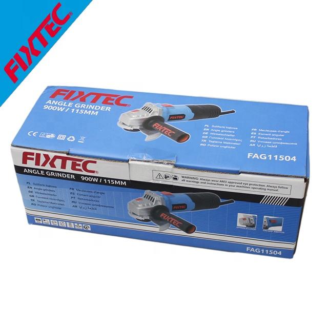 FIXTEC Power Tools 900W 115mm Diameter Mini Angle Grinder