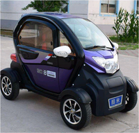 2019 new version low price chinese adult smart 3 seats 4 wheels mini electric car