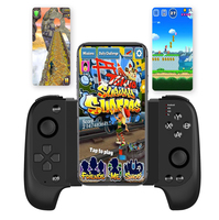bluetooth wireless Android IOS mobile game controller vertical screen game gamepad for PUBG joystick & game controller