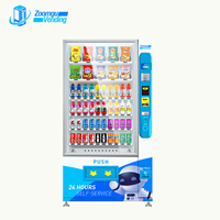 Zoomgu phone card pad protein shake vending machine for snack&drink
