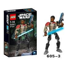 Звездные войны Buildable фигурку строительный блок модель Дарт Вейдер капитан фасма Obi Wan Kenobi строительные блоки кирпичная игрушка(Китай)