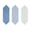 100x300mm Arrow Shaped Glazed crackle Ceramic Bathroom kitchen art wall tile