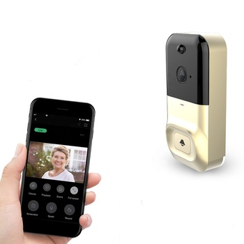 Smart Wireless Video Doorbell X5 HD 1080*720P Wifi Night Vision Intercom Camera Outdoor Ring Video Camera Door Bell Security
