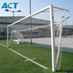 outdoor aluminium goal post football goal frame mini aluminium soccer goal