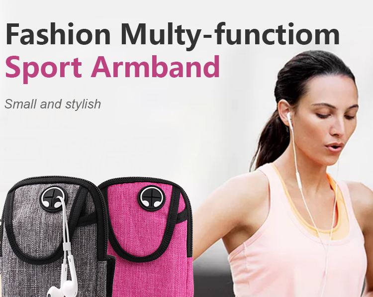 Wholesale amazon running phone armband Water Resistant  4.7 5.5 inch custom running sports phone armband case