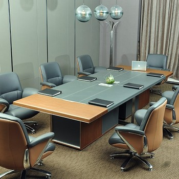 CEO office 8 person big meeting table office meeting table