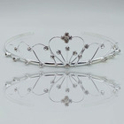 Wholesale Bridal Wedding Rhinestone Crowns And Cheap Prices Crystal Metal Crown Tiaras