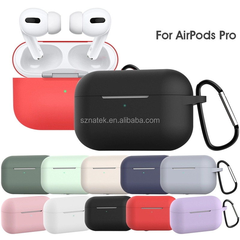 Goedkope Fabriek Prijs case silicone air pods cover air pods case water