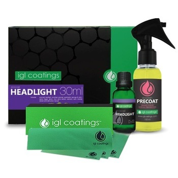 Extreme Hardness Car Headlamp Headlights Nano Ceramic Coating Ecocoat Headlight Restoration Kit