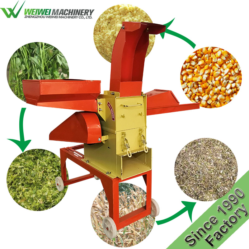 Weiwei hammer mill cattle feeds processing plant