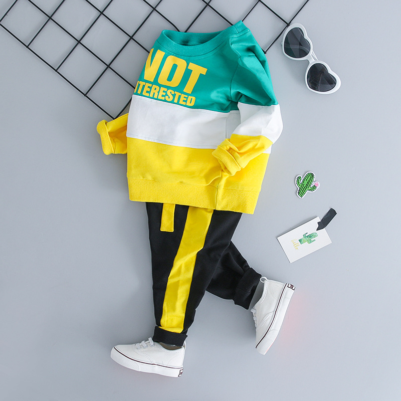 Infant Clothing For Baby Girls Clothes Set  Autumn Winter Baby Boys Clothes T-shirt+Pant  Outfit Suit Newborn Clothes