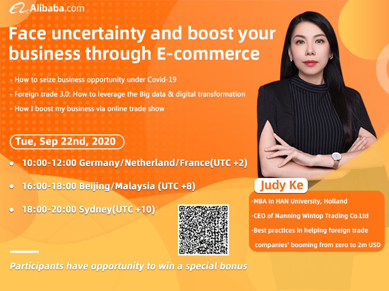 Face uncertainty and boost your business through E-commerce