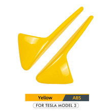 Автомобильная боковая камера Model3 Tesla для Tesla Model 3, аксессуары из углеродного волокна, защитное покрытие из АБС-пластика для Tesla Model S, Model X, Model ...(Китай)