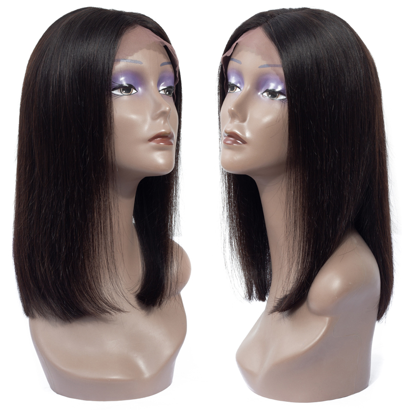 13x4 <strong>Lace</strong> <strong>Front</strong> Bob <strong>Wig</strong> Straight 100% Brazilian Virgin Cuticle Aligned <strong>Human</strong> <strong>Hair</strong> <strong>Cheap</strong> Vendor Short Bob <strong>Wig</strong> for Black Women