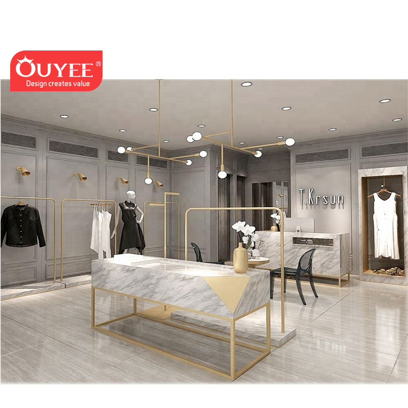 Ladies Clothes Shop Interior Design Furniture Boutique Store Clothing Rack Shop Design Ideas For Clothing Store View Cash Counter Design For Clothing Store Ouyee Product Details From Guangzhou Ouyee Display Co Ltd