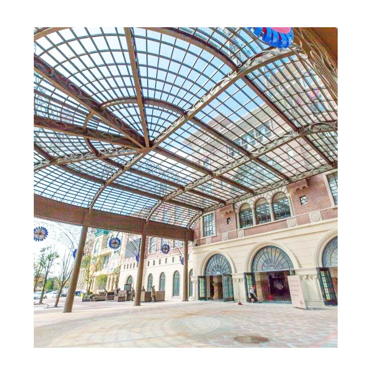 Tempered sound proof stained glass dome price