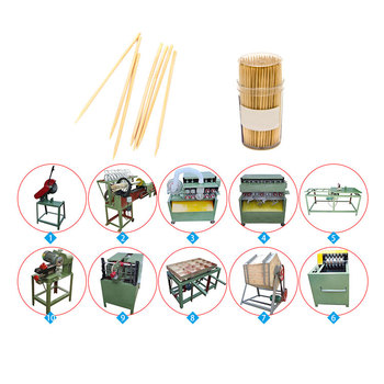 China factory supplier automatic bamboo splitting machine /toothpick machine/machine to make toothpicks