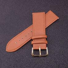 Ремешок для часов Lleather, ремешок для часов 12 мм 14 мм 16 мм 18 мм 19 мм 20 мм 22 мм коричневый белый коричневый женский мужской ремешок для часов(Китай)