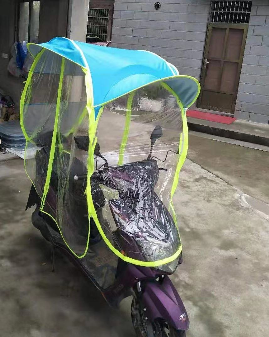 Full Covered Motorcycle Umbrella Cover Bike Umbrella Waterproof Windproof  Sunshade Electric Scooter Umbrella For Rain - Buy Full Covered Motorcycle  Umbrella,Cover Bike Umbrella,Waterproof Windproof Sunshade Electric Scooter  Umbrella For Rain Product on
