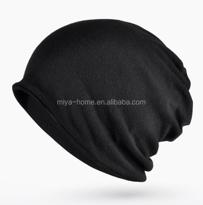 Multifunction Winter Warm Men Women Hat / Baggy Slouchy  Beanie hat / Cotton Solid Color Hat
