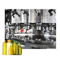 Complete in specifications palm olive oil bottle filling small machine
