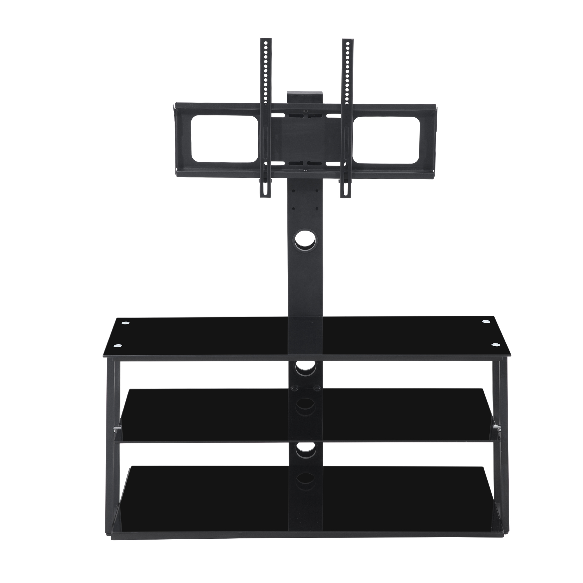 Good quality Universal Led/LCD TV Table General Used Modern Home Furniture Living Room New Classic Glass Table TV Stand