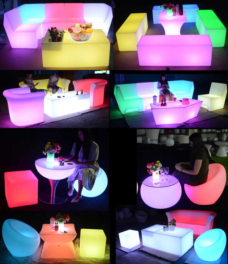 LED bar furniture new design commercial restaurant LED lighting bar counter