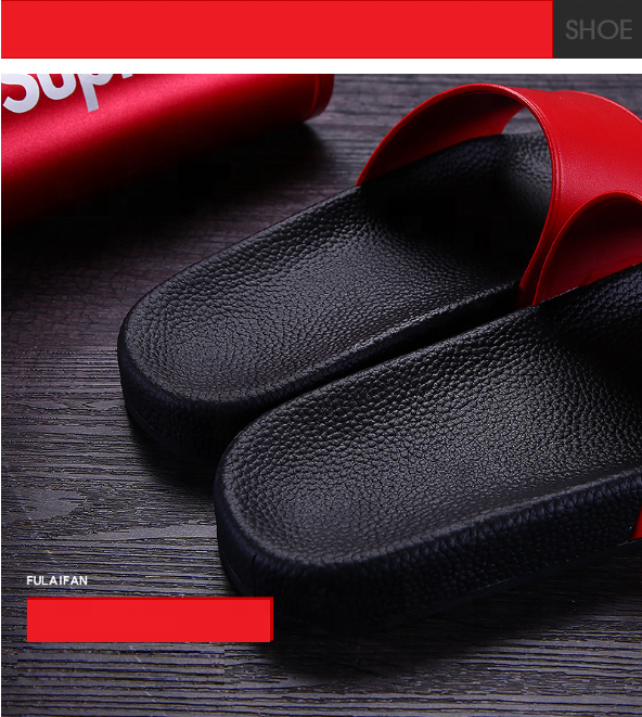 Customizable Logo Outdoor Indoor Bathroom Non-Slip Slippers Trendy House Slides Slippers