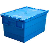 New storage box plastic Container Stackable&Hanging Plastic tote Box with lid