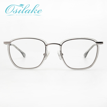 Best seller high quality unisex clear eye glasses thin acetate eyewear frame men women